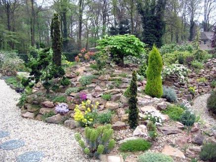De poel onze tuin - Tuin decoratie met kiezelstenen ...